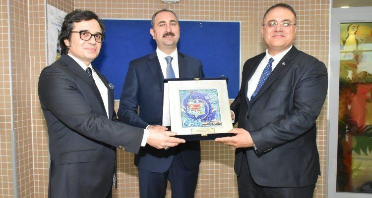 Adalet Bakanı İstanbul Anadolu Adliyesinde