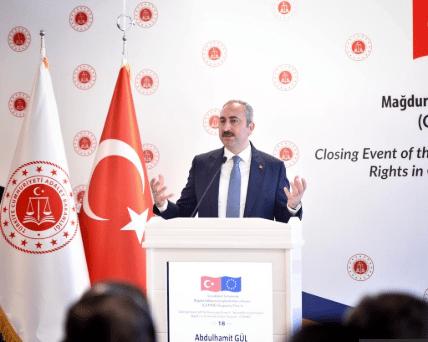 """Adalet Bakanı Gül: """"Yargının Hataya Düşme Lüksü, Pardon Deme Lüksü Yoktur"""""""