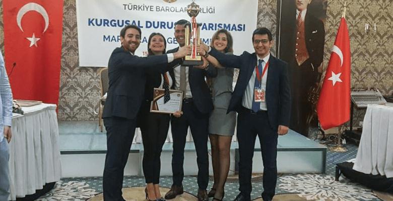 Stajyer Avukatlar Yarışmasının Kazananı Marmara Bölgesi