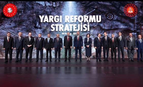 Yeni Yargı Reformu Stratejisinin Tanıtımı Toplantısı Yapıldı