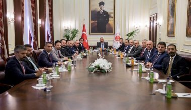 Adalet Bakanı Abdülhamit Gül, Baro Başkanlarını Kabul Etti
