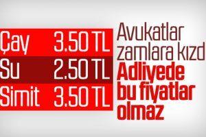 Anadolu Adliyesindeki Fiyatlara Personel ve Avukatlardan Yoğun Tepki