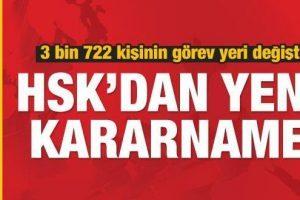 HSK'dan Son Dakika Müstemir Yetkiler Kararnamesi: 3 Bin Hakimin Yeni Görev Yeri Belli Oldu