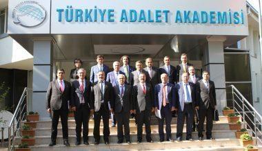 Türkiye Adalet Akademisi Danışma Kurulu İlk Toplantısını Gerçekleştirdi