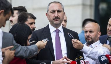 Adalet Bakanı Gül'den ABD'ye Sasunyan Kararı Tepkisi