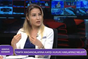 Köşe Yazarımız Av. Begüm Gürel, Konuk Olduğu Woman TV'de Değerlendirmelerde Bulunuyor.