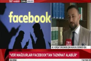Köşe Yazarımız Bilişim Hukuku Derneği Başkanı Av. Kürşat Ergün'ün TRT Haber'in Canlı Yayınında Verdiği Demeç