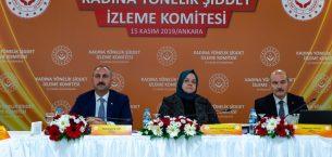 Adalet Bakanı Abdulhamit Gül, Kadına Yönelik Şiddet İzleme Komitesi Toplantısına Katılım Sağladı