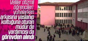 Aksaray'da Müdür ve Yardımcısı Görevden Allındı