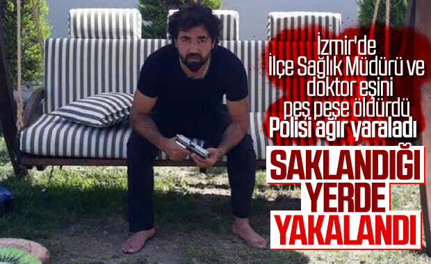 Dün İzmir'i Karıştıran Suç Makinesi Yakalandı