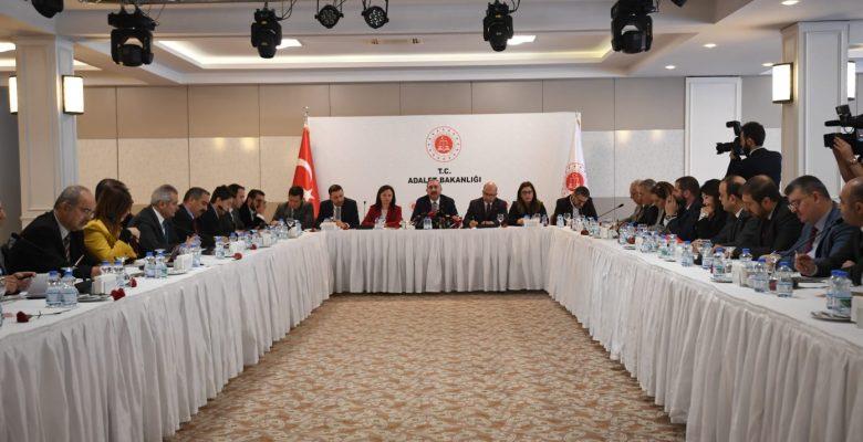 Adalet Bakanı Gül, Düzenlenen Basın Toplantısında 2019 Yılı Değerlendirmesini Açıkladı