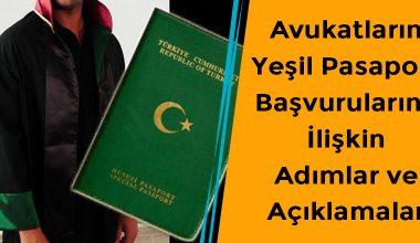 Avukatlar İçin Yeşil Pasaport Alma Şartları ve Başvurulara İlişkin Adımlar