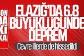 Elazığ'da 6.8 Şiddetinde Deprem Meydana Geldi