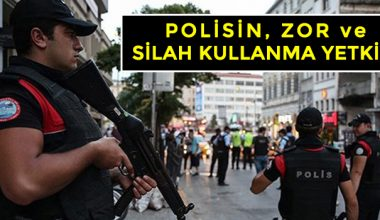 Polisin Zor ve Silah Kullanma Yetkisi