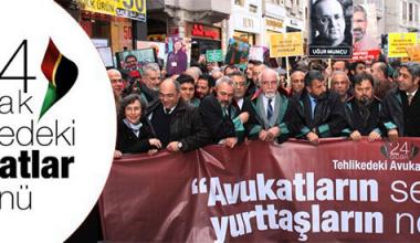 """İstanbul Barosu'ndan """"Bugün Tehlikedeki Avukatlar Günü"""" Mesajı"""