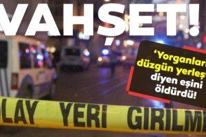 Yorgan Yüzünden Eşini Yumruklayarak Öldüren Kocaya 10 Yıl Hapis Cezası Verildi