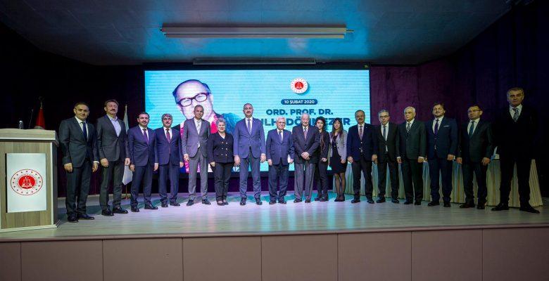 Adalet Bakanı Abdülhamit Gül, Prof.  Dr. Sulhi Dönmezer'i Anma Paneline Katıldı