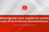 Adalet Bakanlığı'ndan Terör Örgütü Yöneticilerinin Katılımıyla AP'de Konferans Düzenlemesine Tepki