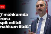 Adalet Bakanı Gül, Cezaevlerindeki Son Durumu Açıkladı