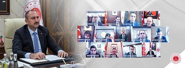 """Adalet Bakanı Gül:  """"66 İlde 750 Kişi Hakkında Soruşturma Başlatıldı"""""""