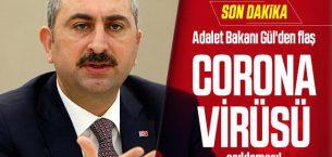 Adalet Bakanı Gül Açıkladı: 12 Hakim ve Savcı ile 55 Personelin Testi Pozitif Çıktı