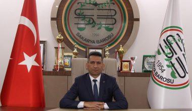 """Sakarya Baro Başkanı Av. Abdürrahim Burak: """"Avukatlar ve Barolar Bir Bütündür, Bölünümez"""""""