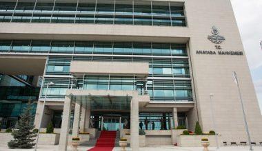 Anayasa Mahkemesi 2 – 3 Haziran Toplantı Gündemleri ve 4 Haziran Genel Kurul Gündemleri