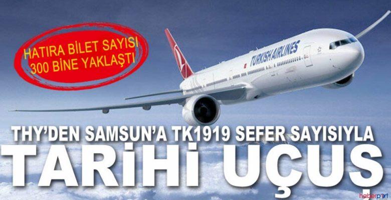 Türk Hava Yolları'ndan 19 Mayıs Gününe Özel Hatıra Bileti Kampanyası