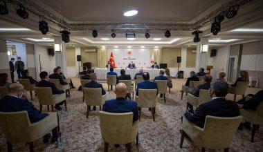 Adalet Bakanı Gül, Baro Başkanları İle Bir Araya Geldi