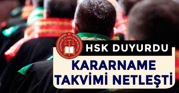HSK Duyurdu: Kararname Takvimi Yayınlandı