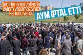 AYM, Şehirlerarası Yollarda Gösteri Yürüyüşünü Yasaklayan Kanunu İptal Etti
