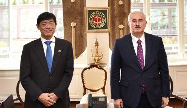 Japonya Büyükelçisi Sayın Akio MİYAJİMA, Yargıtay Başkanlığını Ziyareti Etti