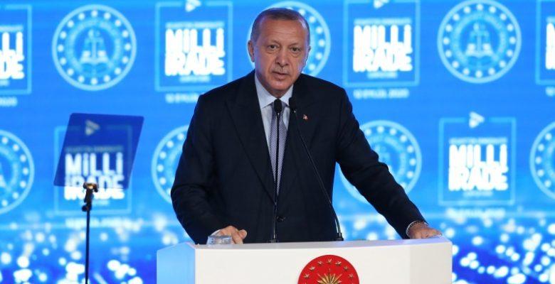 Cumhurbaşkanı Erdoğan, Adalet Bakanlığı Tarafından Düzenlenen Sempozyumda Konuştu