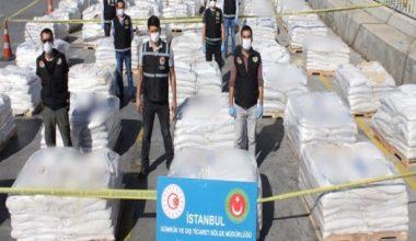 Konteynerde Kokain Karıştırılmış Tonlarca Ürün Ele Geçirildi
