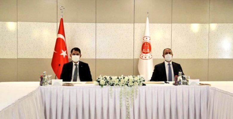 Adalet Bakanı Gül, Ankara'ya Yapılacak Adalet Sarayı Proje Görselini Paylaştı